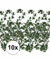 Vergelijk 10x klimop slinger groen hedera helix 180 cm prijs