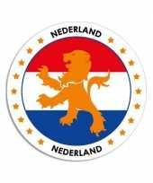 Vergelijk 10x ronde nederland stickers prijs