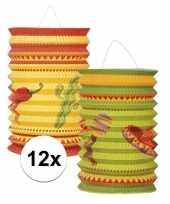 Vergelijk 12x mexicaanse thema lampionnetjes prijs