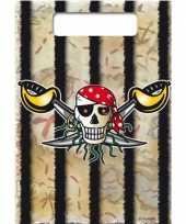 Vergelijk 16x piraten uitdeelzakjes verjaardag prijs