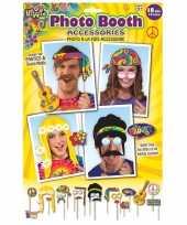 Vergelijk 18x fotoprops hippie feestje prijs