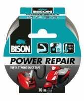 Vergelijk 1x bison power repair tape grijs 10 meter prijs