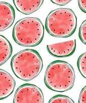 Vergelijk 20 feest servetten met watermeloen opdruk 33 cm prijs