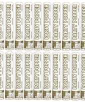 Vergelijk 20x confetti kanon mix goud zilver 26 cm prijs