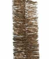 Vergelijk 2x bruine kerstboom folie slinger 270 cm prijs