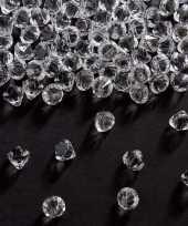 Vergelijk 2x decoratie diamantjes transparant 9 mm prijs