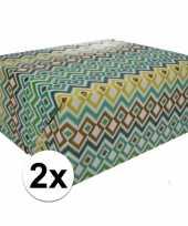 Vergelijk 2x gekleurd cadeaupapier 70 x 200 cm type 3 prijs 10124706