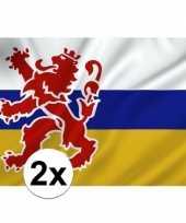 Vergelijk 2x limburgse vlaggen prijs