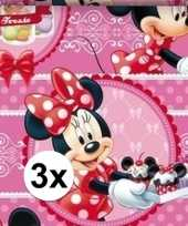 Vergelijk 3x minnie mouse cupcake geschenkpapier prijs 10124697