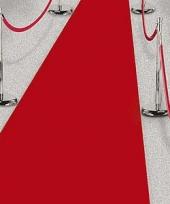 Vergelijk 3x rode lopers voor een feest 450 cm prijs
