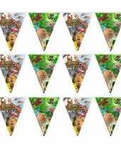 Vergelijk 3x safari jungle thema feest slinger 10 meter prijs