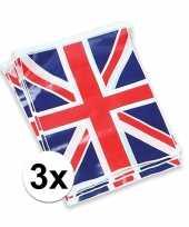 Vergelijk 3x vlaggenlijn met de engelse vlag prijs