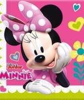 Vergelijk 40x minnie mouse feest servetten 33 x 33 cm kinderverjaardag prijs