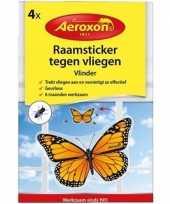 Vergelijk 4x aeroxon vliegenvanger vlinder stickers prijs