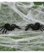 Vergelijk 4x horror spinnen 10 cm halloween decoratie prijs