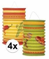 Vergelijk 4x mexicaanse thema lampionnetjes prijs