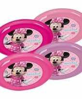 Vergelijk 4x peuter kinder borden disney minnie mouse prijs