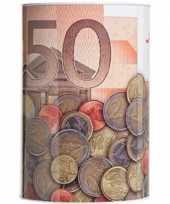 Vergelijk 50 euro biljet spaarpotje 15 x 22 cm prijs