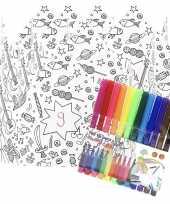 Vergelijk 5x kroontjes om in te kleuren met stiften voor kinderen prijs