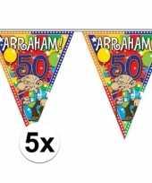 Vergelijk 5x stuks abraham vlaggenlijnen van 10 meter prijs