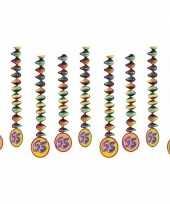 Vergelijk 65 jaar feest versiering spiralen prijs 10153321