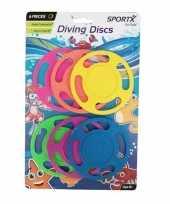 Vergelijk 6x duiken speelgoed duikringen gekleurd prijs