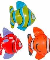 Vergelijk 6x opblaasbare decoratie visjes prijs