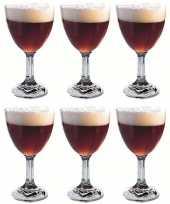 Vergelijk 6x speciaalbiertjes bierglazen abbey abdij 52 cl prijs