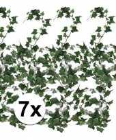 Vergelijk 7x klimop slinger groen hedera helix 180 cm prijs