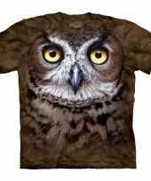Vergelijk all over print t-shirt met uil prijs