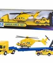 Vergelijk ambulance speelgoed set prijs
