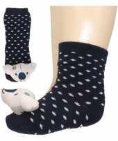 Vergelijk baby sokjes met berenkop prijs
