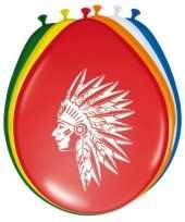 Vergelijk ballonnen indianen 8 stuks prijs
