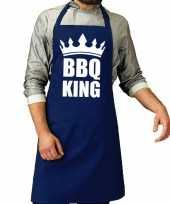 Vergelijk bbq schort bbq king kobalt blauwvoor heren prijs