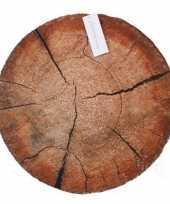 Vergelijk beuk boomstamschijf kussen 40 cm prijs