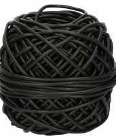 Vergelijk bindbuis touw 3 mm x 50 meter zwart prijs