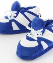 Vergelijk blauw witte sneaker sloffen voor volwassenen maat 45 47 prijs