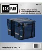 Vergelijk blauwe handige fietstassen 39 x 35 cm prijs