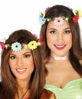 Vergelijk bloemen haarkrans met verlichting voor dames prijs