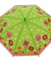 Vergelijk bloemenprint parapluutje 70 cm voor meisjes prijs