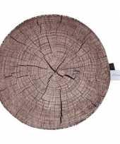 Vergelijk boomstamschijf kussen 40 cm prijs