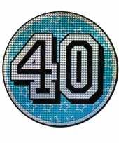 Vergelijk bord 40 jaar holografisch prijs