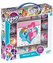Vergelijk box met 1000 my little pony stickers prijs