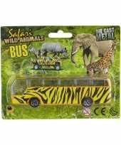 Vergelijk bussafari speelgoed auto giraf print prijs