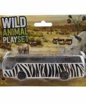 Vergelijk bussafari speelgoed auto zebra print prijs