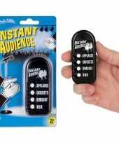 Vergelijk button met publiek geluiden prijs