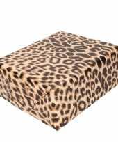 Vergelijk cadeaupapier panterprint luipaardprint 200 cm prijs
