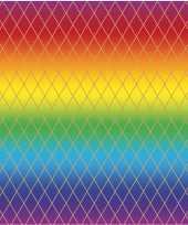 Vergelijk cadeaupapier regenboog kleuren en grafische print 200 cm prijs