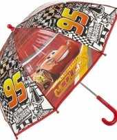 Vergelijk cars bliksem mc queen kinderparaplu rood 45 cm prijs