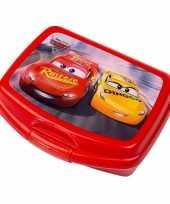 Vergelijk cars lunchtrommel rood 16 5 cm prijs